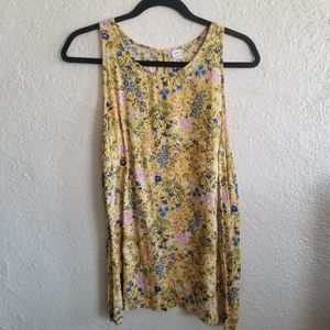 Old Navy | Floral tank top